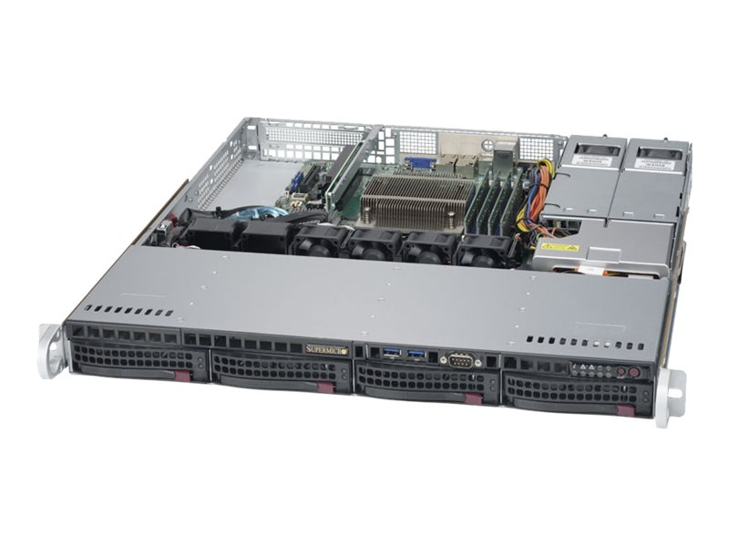 Supermicro X11SSH-F 813MFTQ-R400B, SYS-5019S-MR