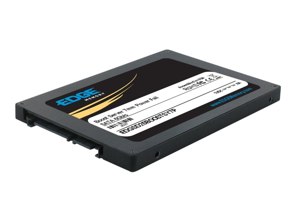 Edge 120GB Boost Server SATA 6Gb s 2.5 7mm Internal Solid State Drive, PE239701, 16493612, Solid State Drives - Internal