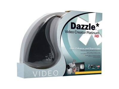 Corel Dazzle Video Creator, Platinum DVD HD, Video Editing Hardware, 9900-65208-00