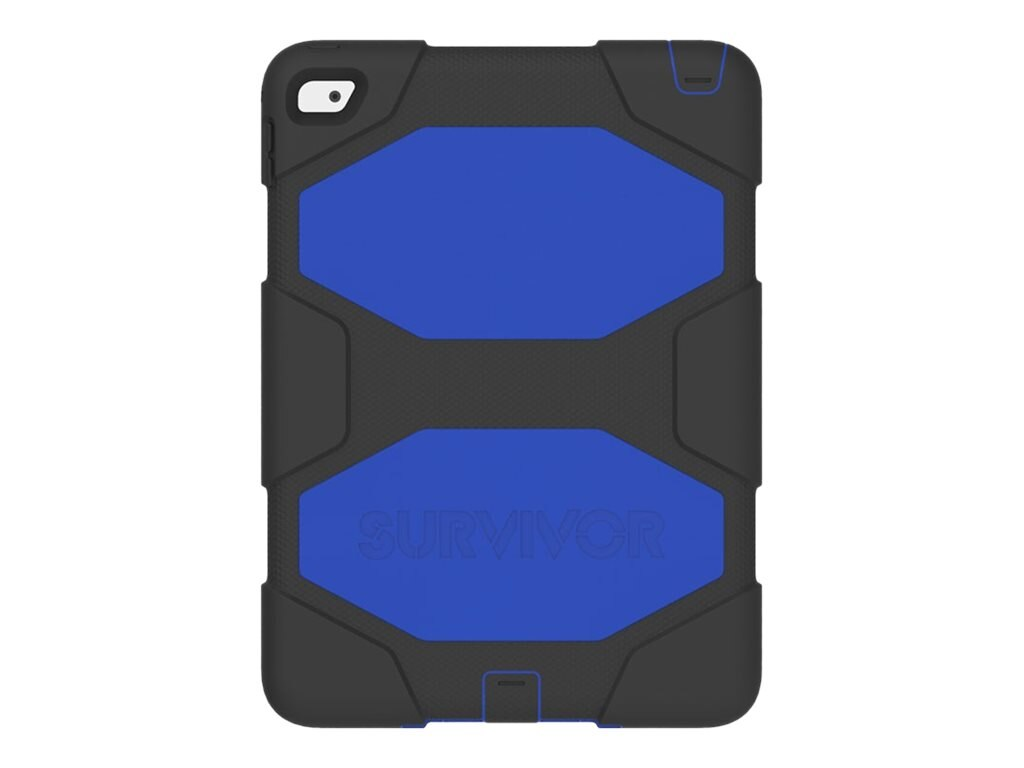 Griffin Survivor All-Terrain for iPad Air 2, Black Blue, GB40338, 17700919, Carrying Cases - Tablets & eReaders