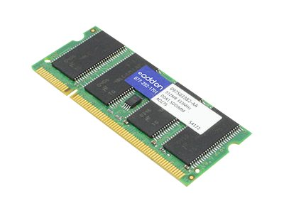 ACP-EP 512MB PC2700 333MHz 200-pin DDR SDRAM SODIMM for Select Phaser Models, 097S03382-AA