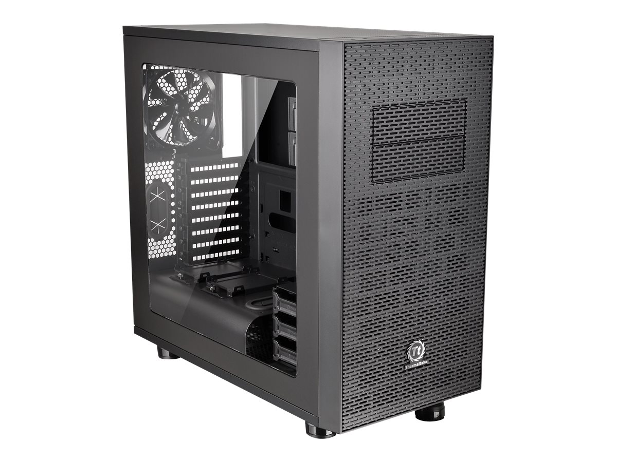 Thermaltake Chassis, Core X31 Mid Tower 6x3.5 Bays 2x5.25 Bays 8xSlots Window, Black