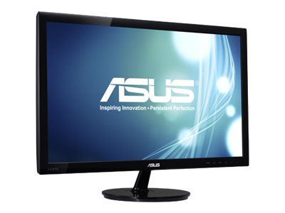Asus 21.5 VS228H-P Full HD LED Monitor, Black, VS228H-P