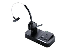 Jabra Pro 9450 Wireless Headset with Base, 1.9GHz, 9450-65-507-105, 13013370, Headsets (w/ microphone)