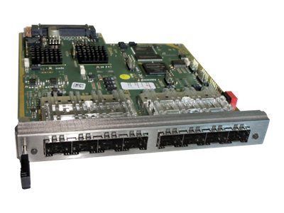 Black Box DKM FX HD Video & Peripheral Matrix Switch, Empty SFP I O Module, 8-Port, ACXIO8-SFP