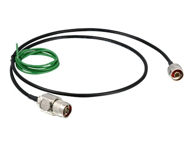 TRENDnet DC to 3GHz Outdoor Lightning Surge Arrestor Kit, TEW-ASAL1, 8555406, Surge Suppressors