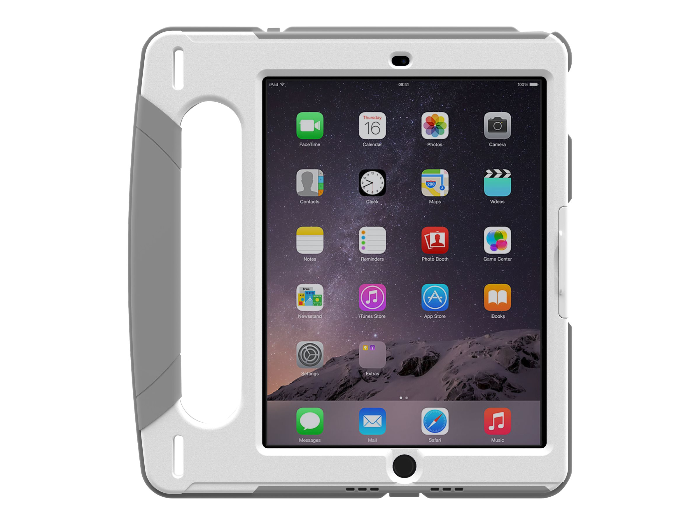 Trident Case Industrial Case w  Handle for iPad Air 2, White, KN-APIPA2-WTI01