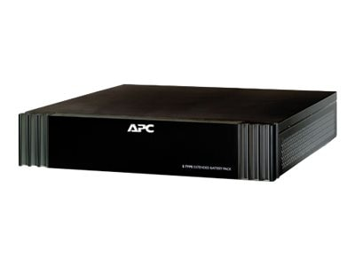 APC AV S-Type Extended Battery Pack 48VDC, Black