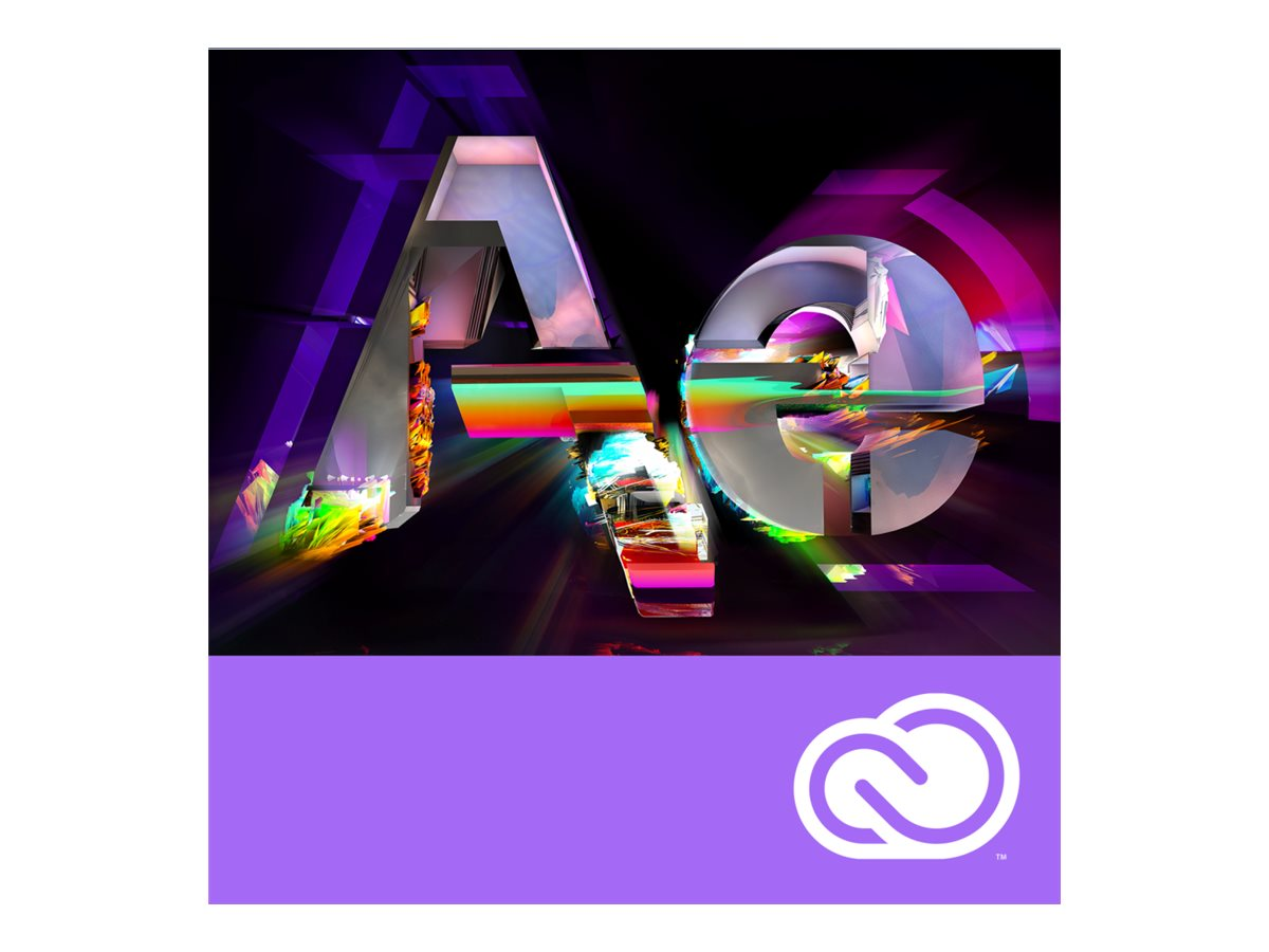 Adobe Corp. VIP After Effects CC Multi Plat Lic Sub Rnwl 1 User Level 1 1-9 12 mo.