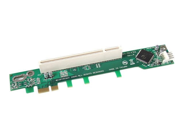 StarTech.com PCI Express to PCI Riser Card x1 for Intel 1U IPC Server, PEX1PCI1R