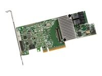 3Ware 8-Port 12Gb s SATA SAS PCIe Controller Card, 2GB DDR3, 05-25420-17, 30664967, Controller Cards & I/O Boards