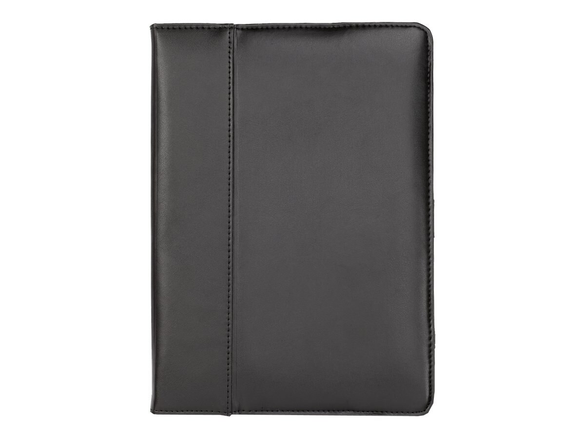 Cyber Acoustics Leather Cover Case for iPad Air, Black