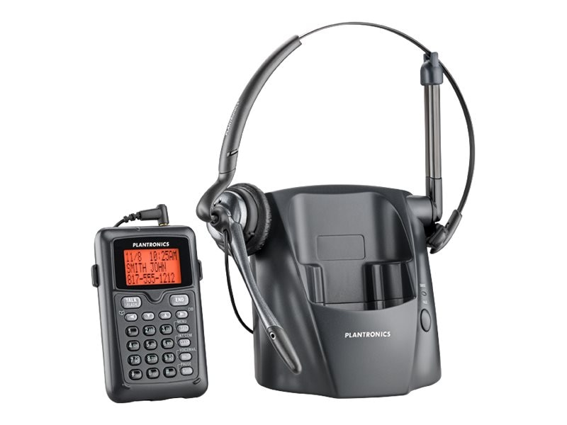 Plantronics CT14 R Cordless Headset for Telephone DECT 6.0 US EAS CEC, 80057-11, 16823677, Headsets (w/ microphone)