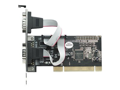 Manhattan 2-port DB9 Serial PCI RS232C 16C550 16C450 158213 Controller, 158213, 13917070, Controller Cards & I/O Boards