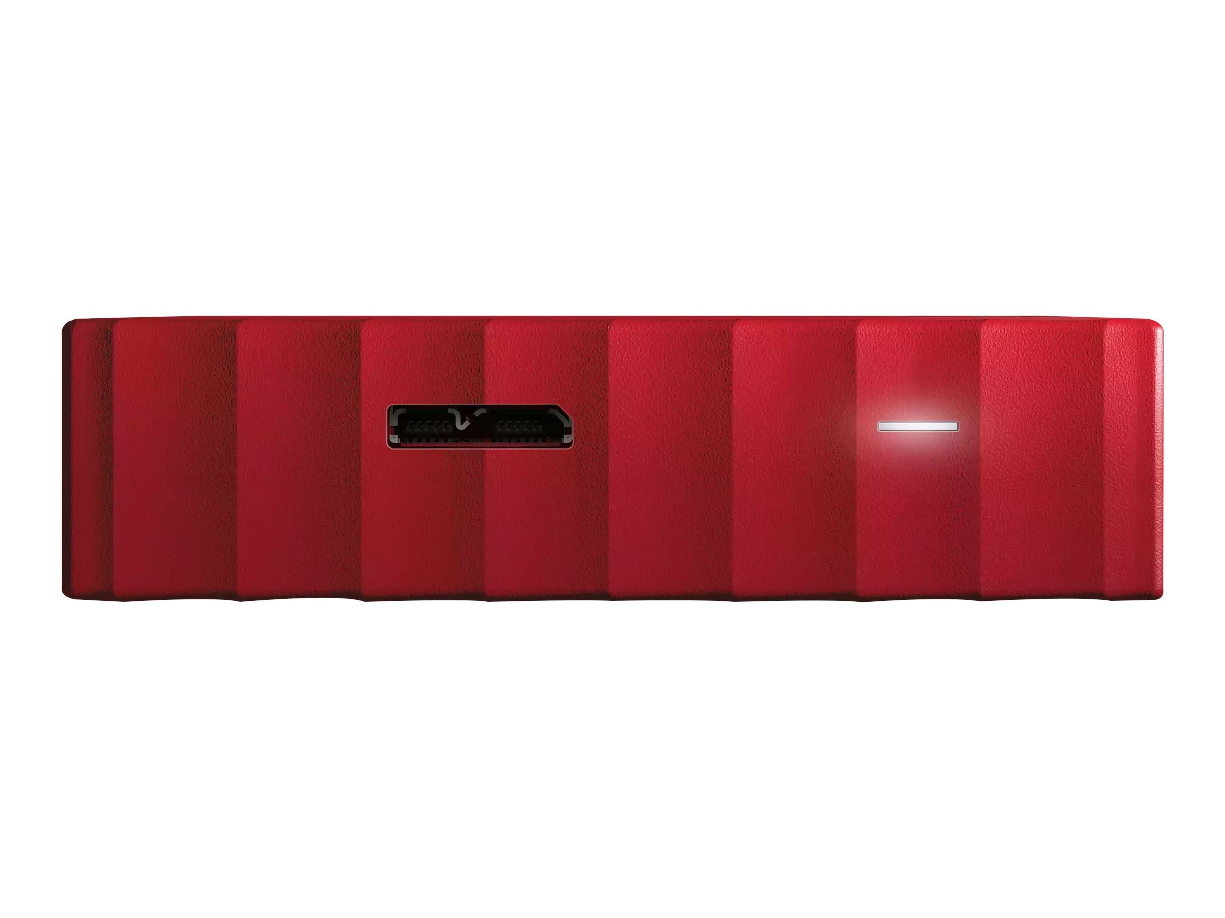 WD 4TB My Passport USB 3.0 Portable Hard Drive - Red, WDBYFT0040BRD-WESN