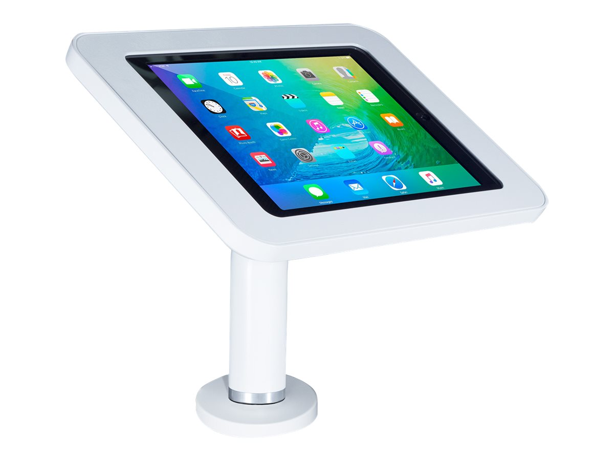 Joy Factory Elevate II Wall Countertop Mount Kiosk for for iPad Pro 9.7, iPad Air 2, White