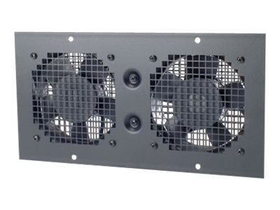APC Wall Mount Fan Tray 230VAC, Black (AR8207BLK), AR8207BLK, 416791, Rack Cooling Systems