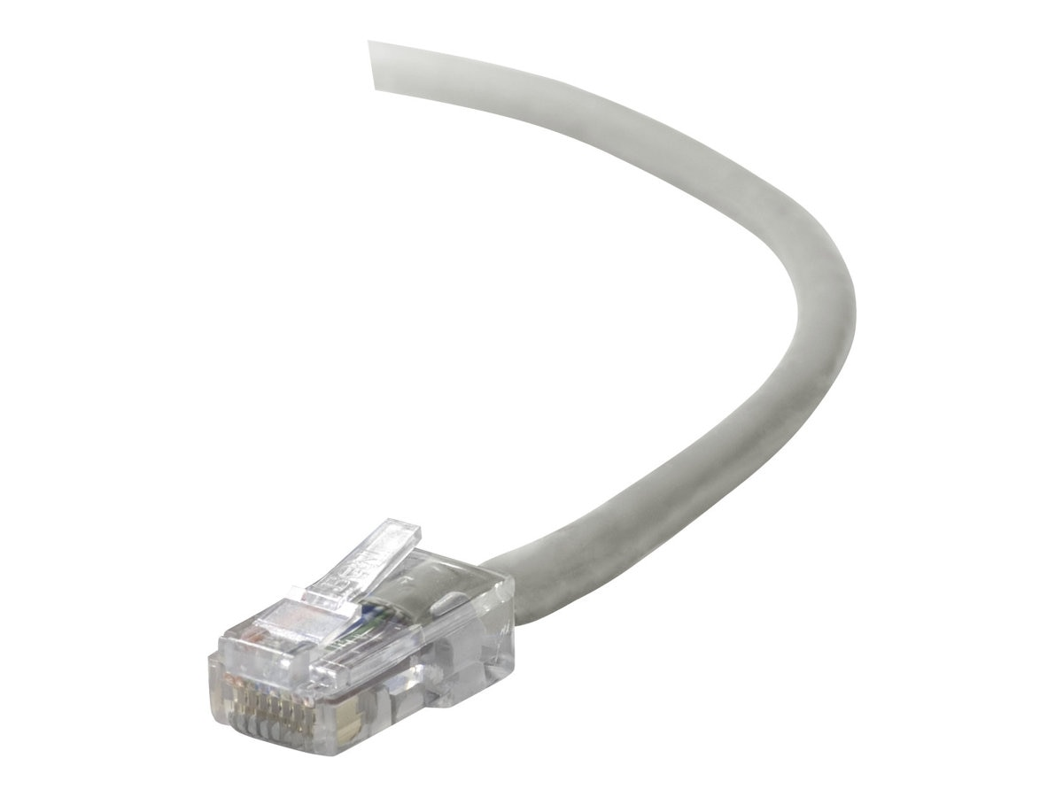 Belkin Cat5e Non-Booted UTP Patch Cable, Gray, 2ft