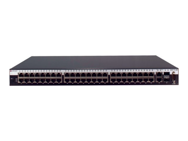 Enterasys A4 48-port 10 100 802.3AF POE L2 Switch, A4H124-48P, 12762361, Network Switches