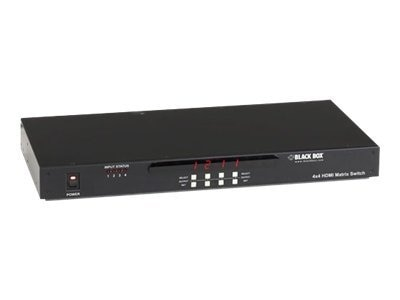 Black Box 2x2 HDMI Matrix Switch RS-232