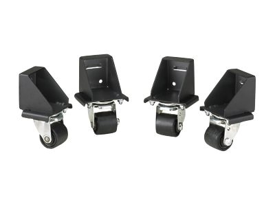 Panduit 4-Pack N-Type Caster Kit, Black, NCSTR4