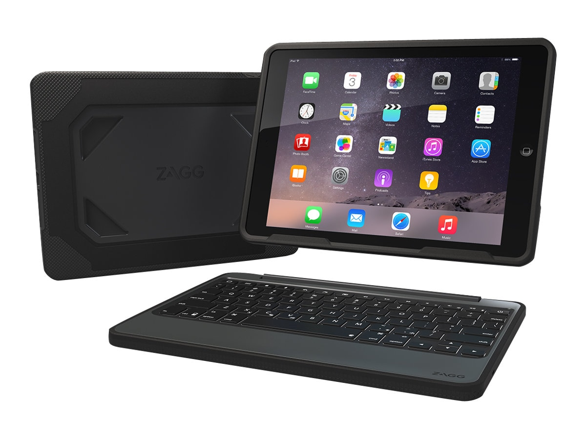Zagg Rugged Book Case for iPad Pro 9.7, ID8RPK-BB0