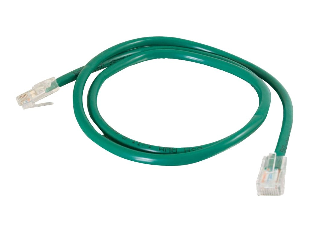 C2G Cat5e Non-Booted Unshielded (UTP) Network Patch Cable - Green, 150ft