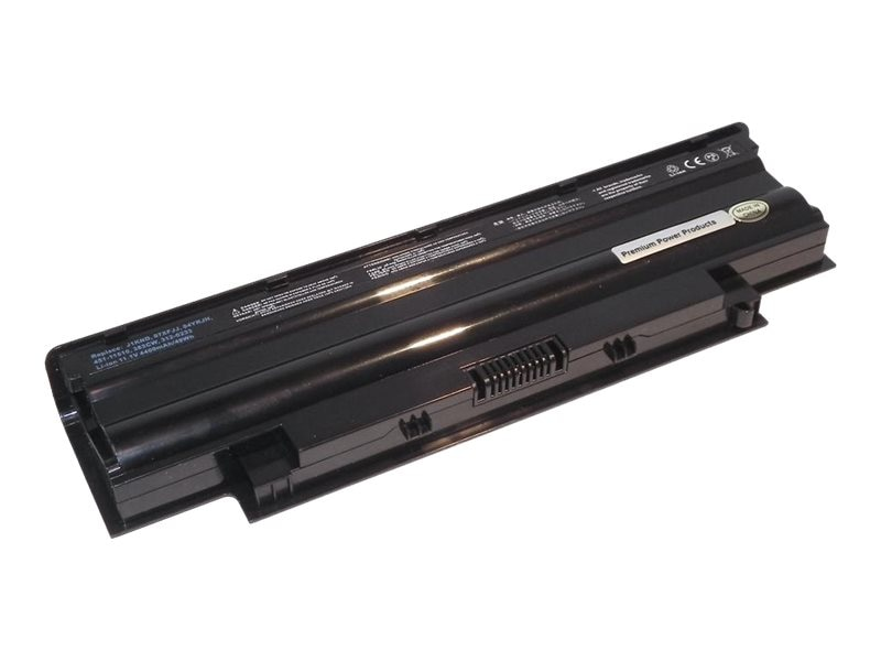 Ereplacements Battery, Li-Ion 11.1V 4400mAh 6-cell for Dell Inspiron 13R, 14R Series Laptops