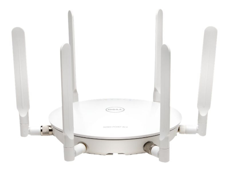 Dell 4-Pack SonicPoint ACe w o POE Injector & 24x7 Support (3 Years), 01-SSC-0877, 18181364, Wireless Access Points & Bridges
