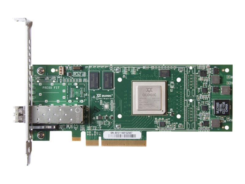 HPE StoreFabric SN1000Q 16GB 1-port PCIe Fibre Channel Host Bus Adapter, QW971A