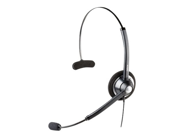 Jabra GN1900 USB Monaural Noise-Cancelling Headset, VoIP, 1983-829-107