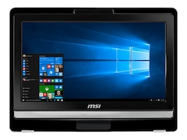 MSI Pro 20ET 4BW-019US AIO 20 W10, PRO 20ET 4BW-019US, 32011273, Desktops - All-in-One