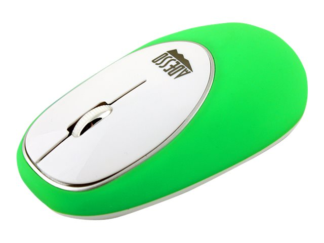 Adesso Wireless Anti-Stress Gel Mouse, Green, IMOUSEE60G