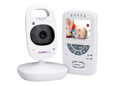 Lorex Sweet Peek Digital Baby Monitor with Wireless Camera - 2.4 Monitor, 4-Camera Support, BB2411T, 16515869, Cameras - Security