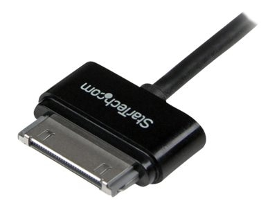 StarTech.com Apple 30pin to USB Cable, Black, 1m, USB2ADC1MB