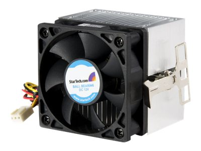 StarTech.com CPU Cooling Fan and Heatsink, 6cm, Aluminum, for Pentium AMD Thunderbird Duron