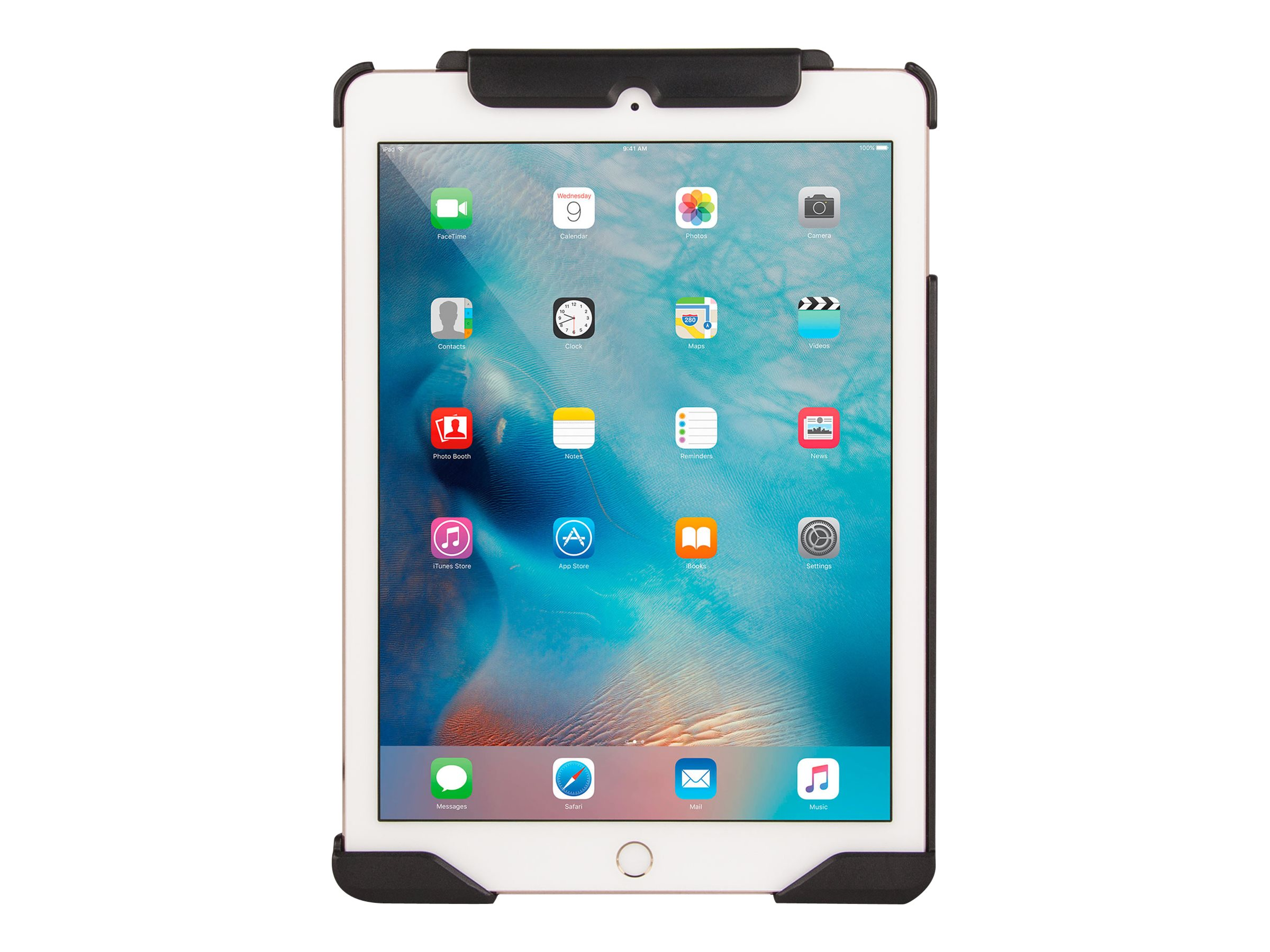 Joy Factory MagConnect LockDown Secure Holder for iPad Pro 9.7, Air 2 (Cable Lock Included)