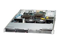 Supermicro 1U Chassis, Black, CSE-813LT-350CB, 17603449, Cases - Systems/Servers