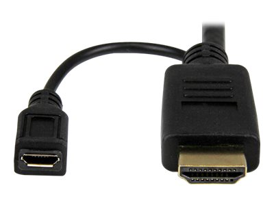 StarTech.com HDMI to VGA M M Active Converter Cable, Black, 6ft, HD2VGAMM6