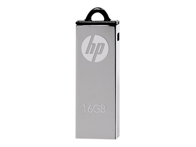 PNY 16GB V220W USB 2.0 Flash Drive, Silver
