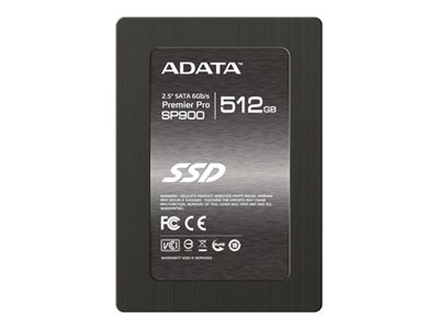 A-Data 512GB SP900 SATA 2.5 Internal Hard Drive