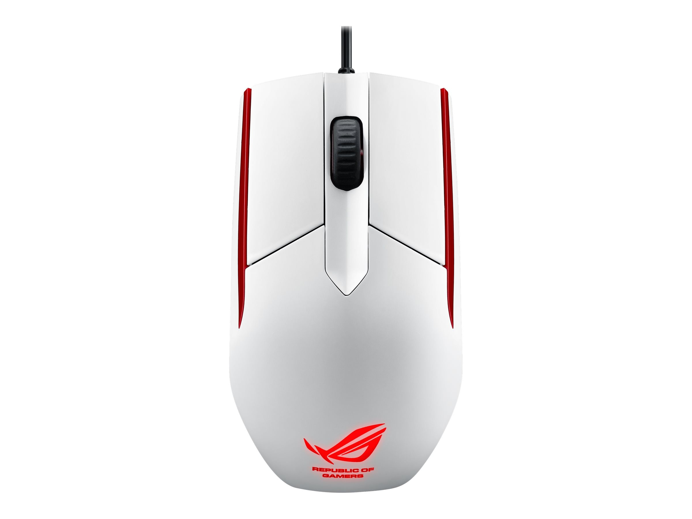 Asus Rog Sica for Moba Player w  Adaptable Grip, ROG SICA WHITE