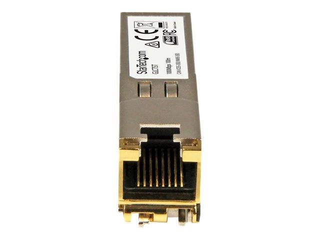 StarTech.com Gigabit RJ45 Copper SFP Transceiver Module, Cisco Compatible (10-Pack), GLCT10PKST