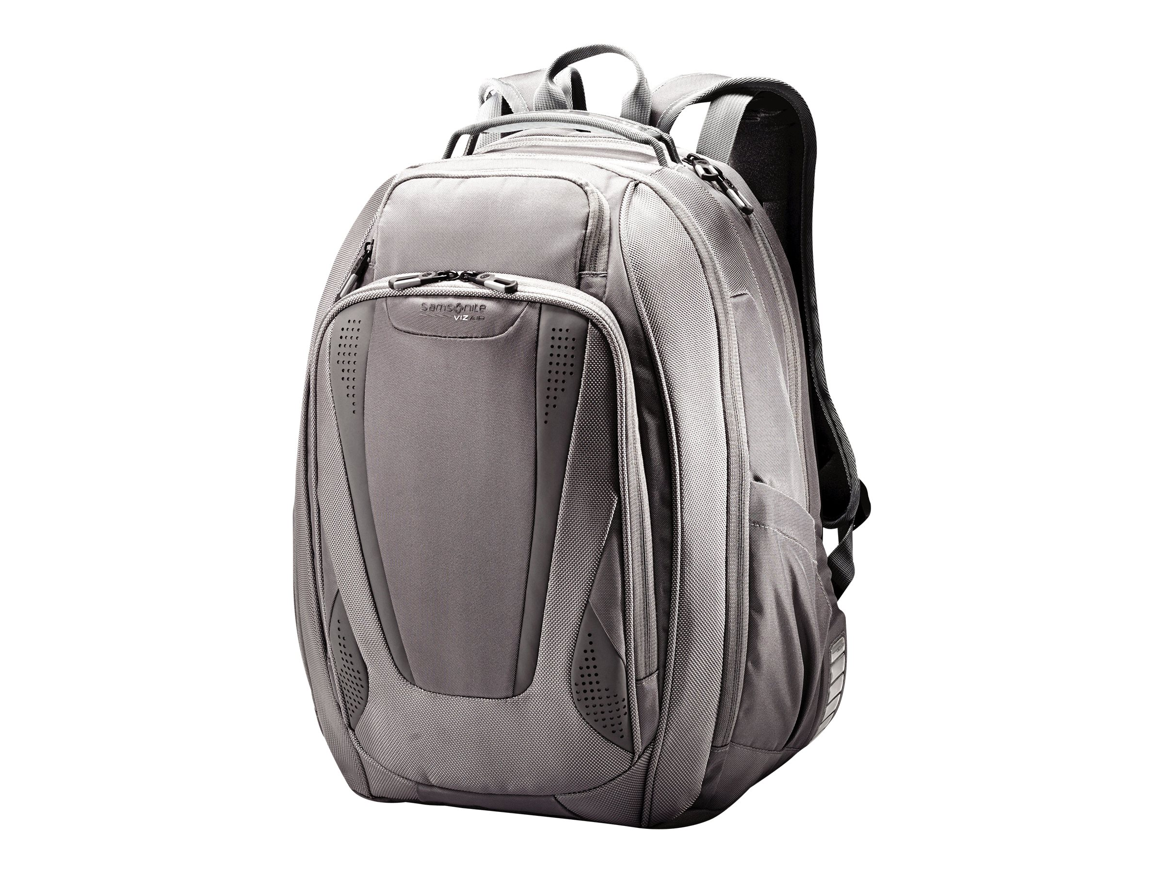 Stephen Gould Viz Air Backpack 15.6, Gray w  Smoke Trim