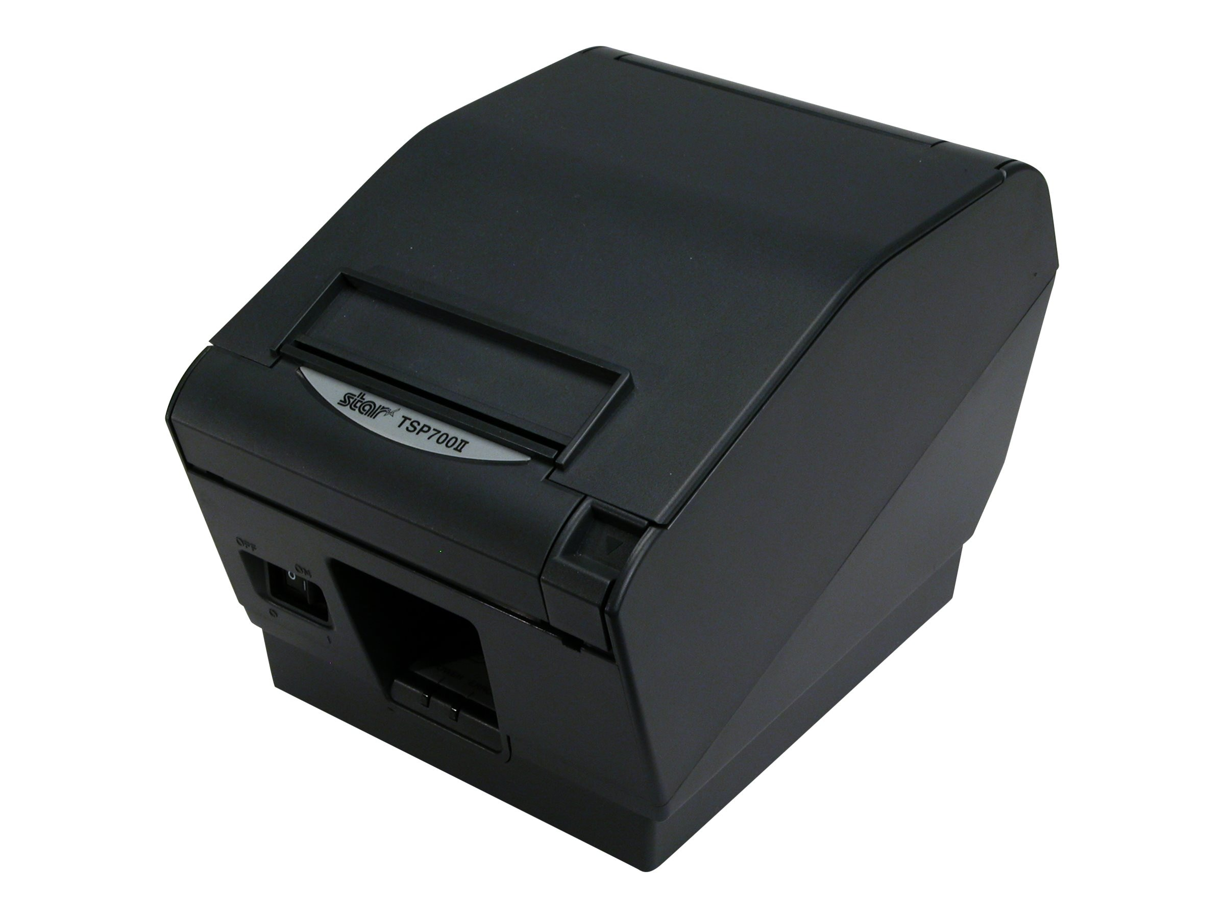 Star Micronics TSP743IIL Thermal Friction 2 Color Ethernet Printer - Gray w  Cutter, 37999950
