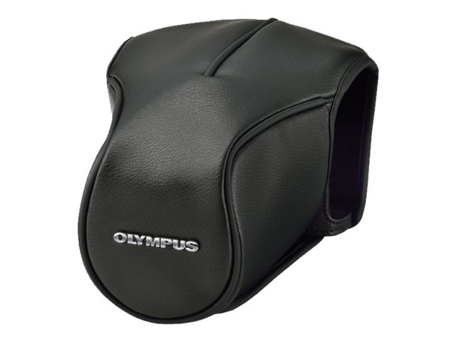 Olympus CS46 Black Leather Body Jacket For OM-D Mark-II, V601067BW000