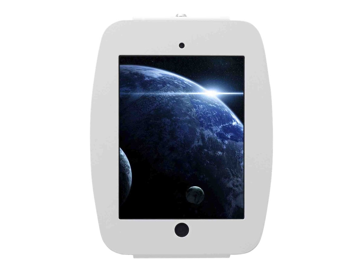 Compulocks iPad mini Enclosure, Space Wall Mount, White, 235SMENW