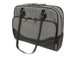 Mobile Edge Herringbone Briefcase Small13.3 PC, 13 Mac, MEWHCS, 14619921, Carrying Cases - Notebook