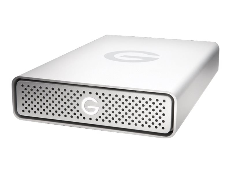 G-Technology 4TB GDrive USB 3.0 External Hard Drive - Silver, 0G03594, 17764496, Hard Drives - External