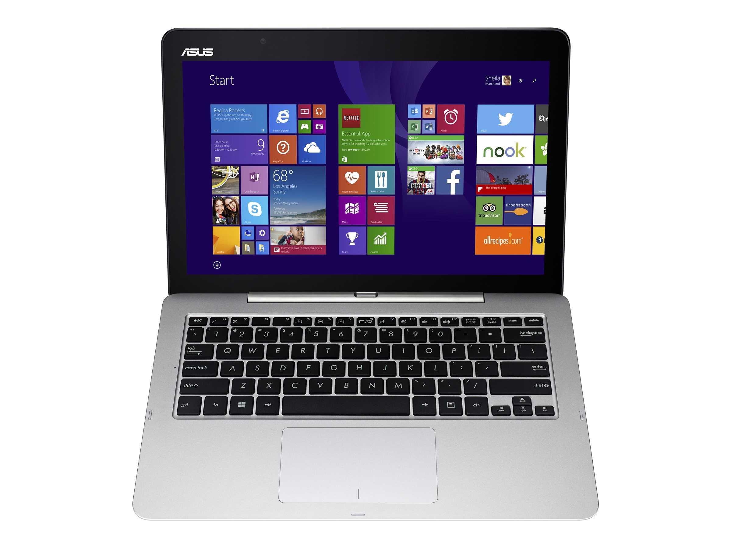 Asus Transformer Book T300FA-DH12T, 90NB0531-M01050, 23517037, Tablets